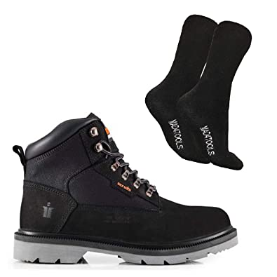 47b3c44eafb Scruffs Twister Safety Boots and Grey Boot Socks