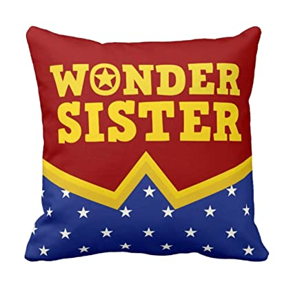 Buy YaYa CafeTM Birthday Gifts For Sister Wonder Printed Cushion Cover 16 X Inches Rakhi Online At Low Prices In India