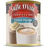 Caffe D'Vita French Vanilla Cappuccino 1 lb. can (16 oz.)