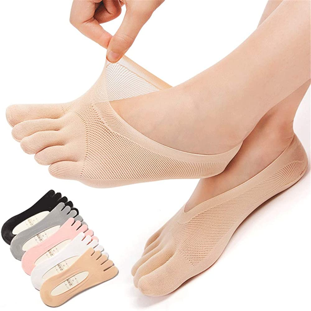 Women Five Toes Breathable Sports Yoga Sock Cotton