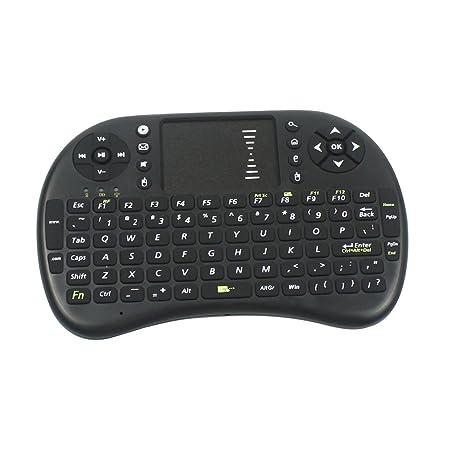 Dalle Tek Mini i8 2,4 G teclado inalámbrico recargable de litio para teclado para