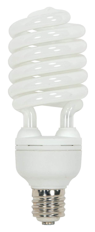 Satco Products S7389 65-Watt (300-Watt) 4300 Lumens Hi-Pro Spiral CFL Daylight White 5000K Mogul Base 120-Volt Light Bulb