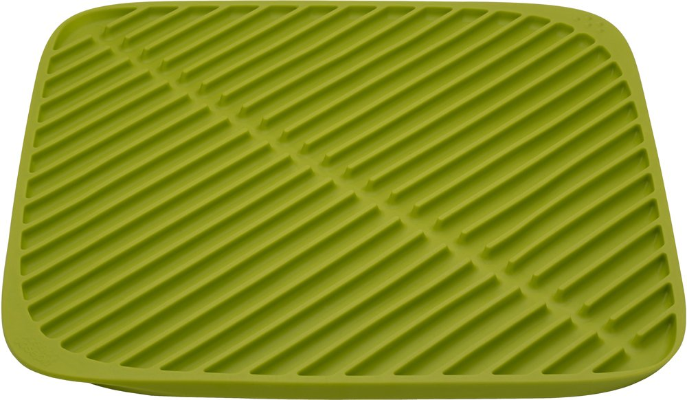 Joseph Joseph 85086 Flume Folding Draining Mat, Small, Green by Joseph Joseph