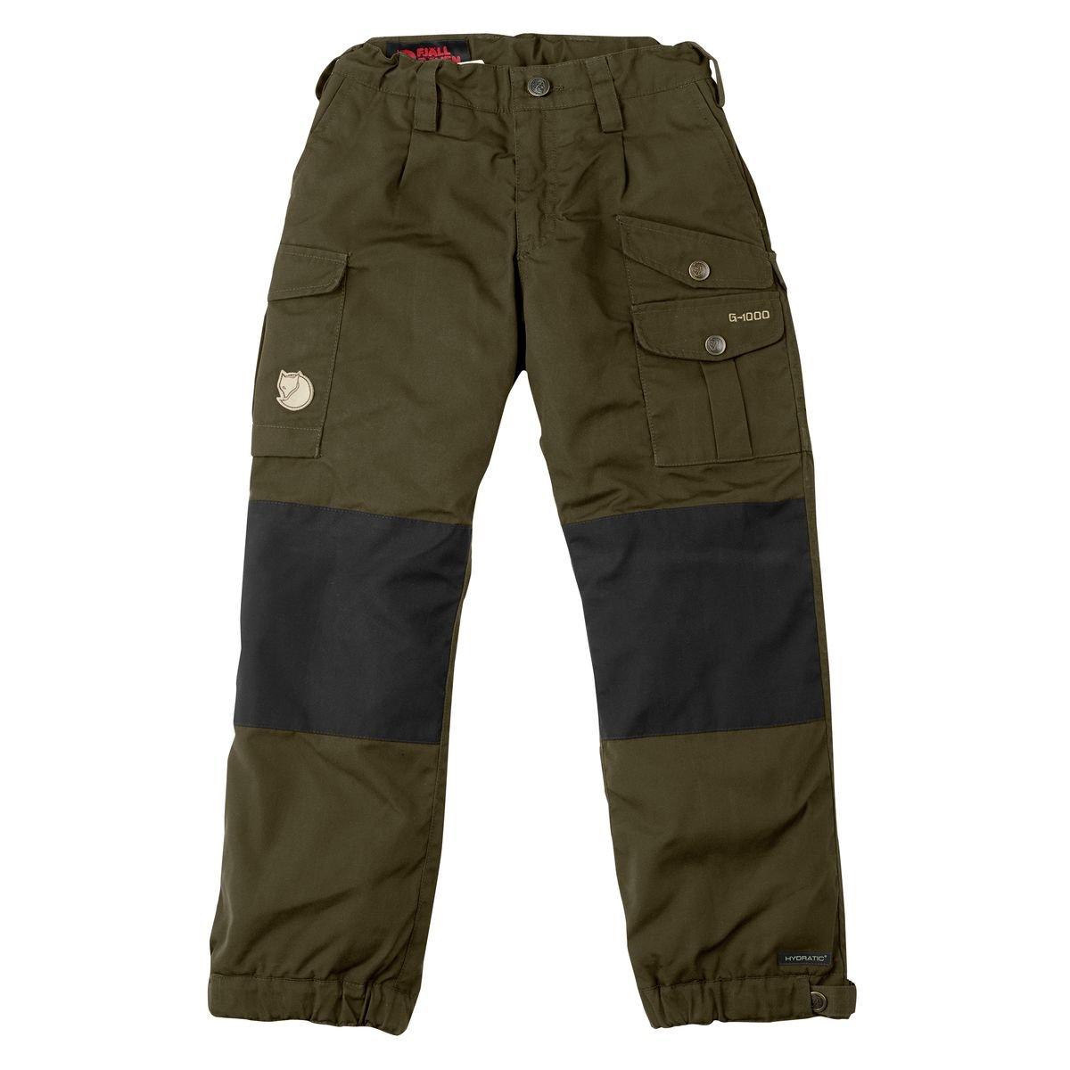 Fjallraven Kids Vidda Padded Trousers, 110, Dark Olive