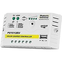 Controlador/regulador de Carga Solar de 10 A para baterías de 12 V y Paneles solares de hasta 160 W