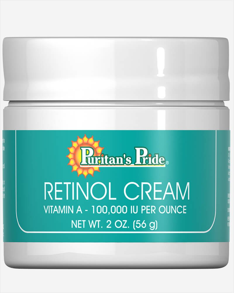 Retinol Cream, 2 Oz, A 100,000 Iu Per Oz by Puritan's Pride