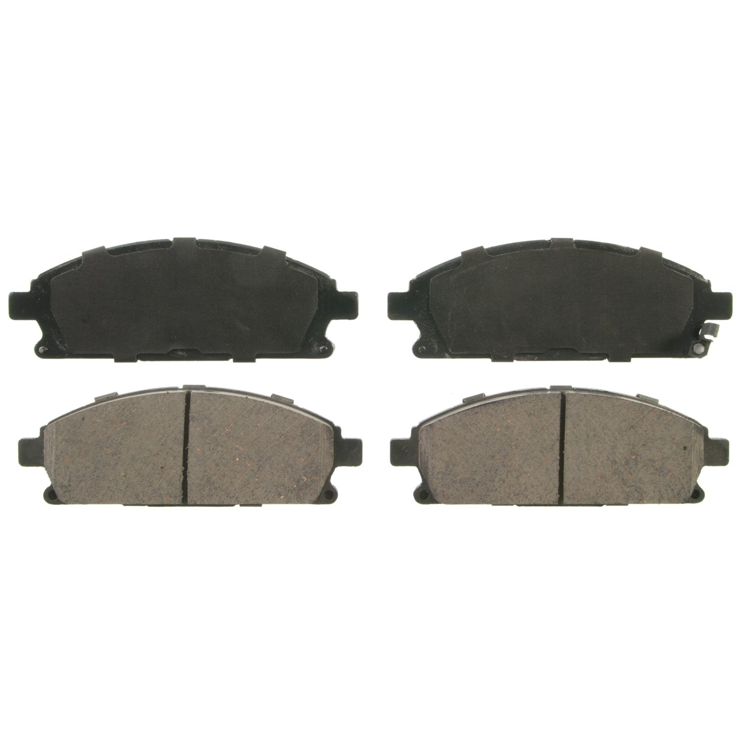 Wagner QuickStop ZD855A Ceramic Disc Pad Set, Front