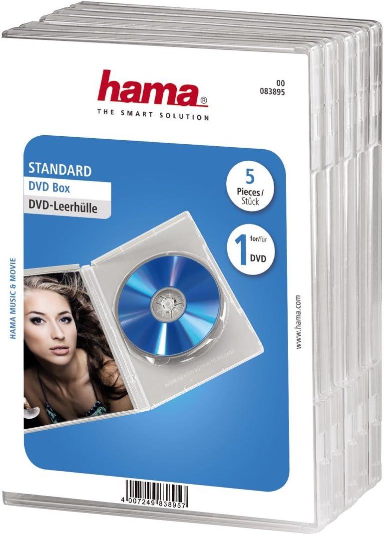 25 CDs//DVDs klar 8 cm Jewel Cases