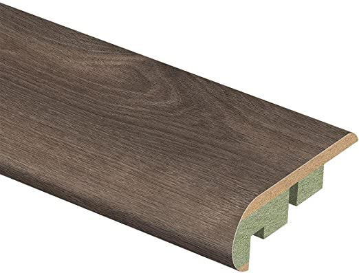 Southern Grey Oak 3 4 In Thick X 2 1 8 In Wide X 94 In Length Laminate Stair Nose Molding