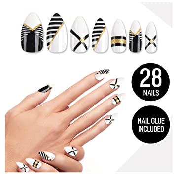 Amazon.com: Tip Beauty - Kit de uñas postizas para mujeres ...