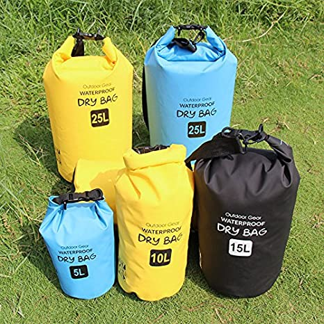 Amazon.com   Iokone Outdoor Dry Bag 20L Lightweight Waterproof Floating Bag  PVC Wet Dry Sacks for Kayaking   Boating   Canoeing   Fishing   Rafting ... 19922826bcc64