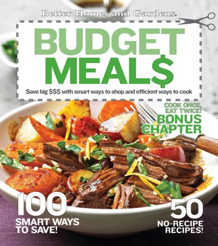 Budget Meals (Better Homes & Gardens Cooking)