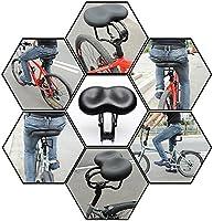 Convient pour les Sièges de Vélos Ordinaire et les Vélos de Route Selle de Bicyclette Vélo Selle Vélo de Route Cushion Large Selle VTT Selle VTT Conception Antichoc Vendu Par Hokonui