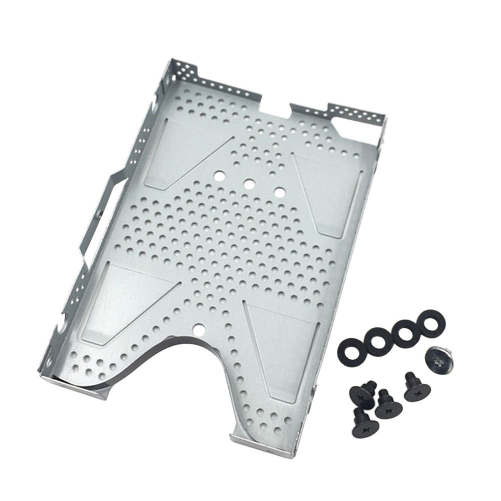 Meijunter Replacement HDD Hard Drive Frame Protection Tray with Screws for PS4 Slim Console by Meijunter