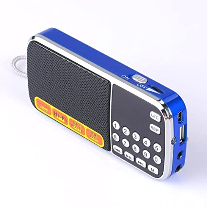 Mfine Portable Mini USB FM Radio Speaker Music Player TF Card For PC IPod  Phone (