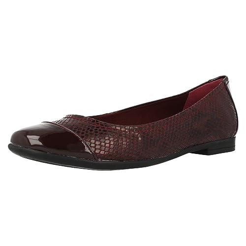 Zapatos de mujer en cuero Atomic Hazepor Clarks, color, talla 41.5: Amazon.es: Zapatos y complementos