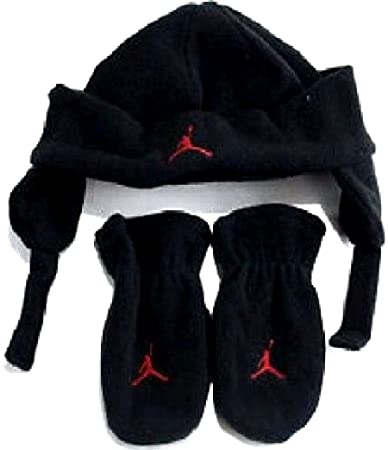 c876e014f390c1 Image Unavailable. Image not available for. Color  Air Jordan Baby Boy s 2  Piece Fleece Hat   Mittens Set