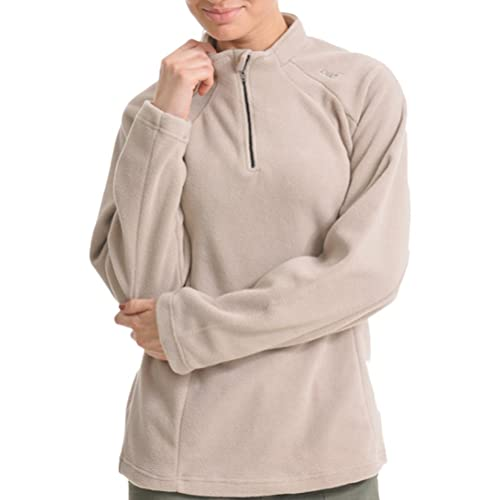 Zhhlaixing Calidad Alta Candy Color Sports Women Thickening Long Sleeve Pullover Half Zip Fleece Swe...