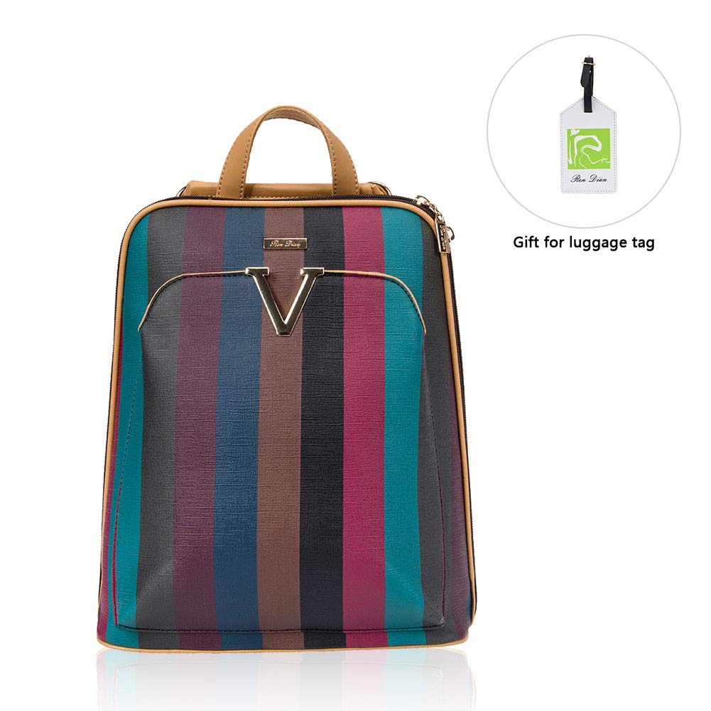 【New Arrival】Women's Mini Cute Fashion Backpack Purse Anti Theft Leather Dayback, for Travel/School/Leisure…