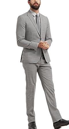 Amazon.com: Michealboy - Conjunto de chaqueta y pantalones ...