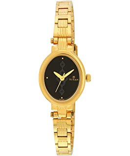 Ne9644ym09 Gold Dial Titan Karishma Women's Buy Watch Analog N80wPOyvnm