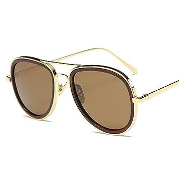 WKAIJC Mode Mode Persönlichkeit Kreativität Bequem Retro Männer Und Frauen Sonnenbrillen,C