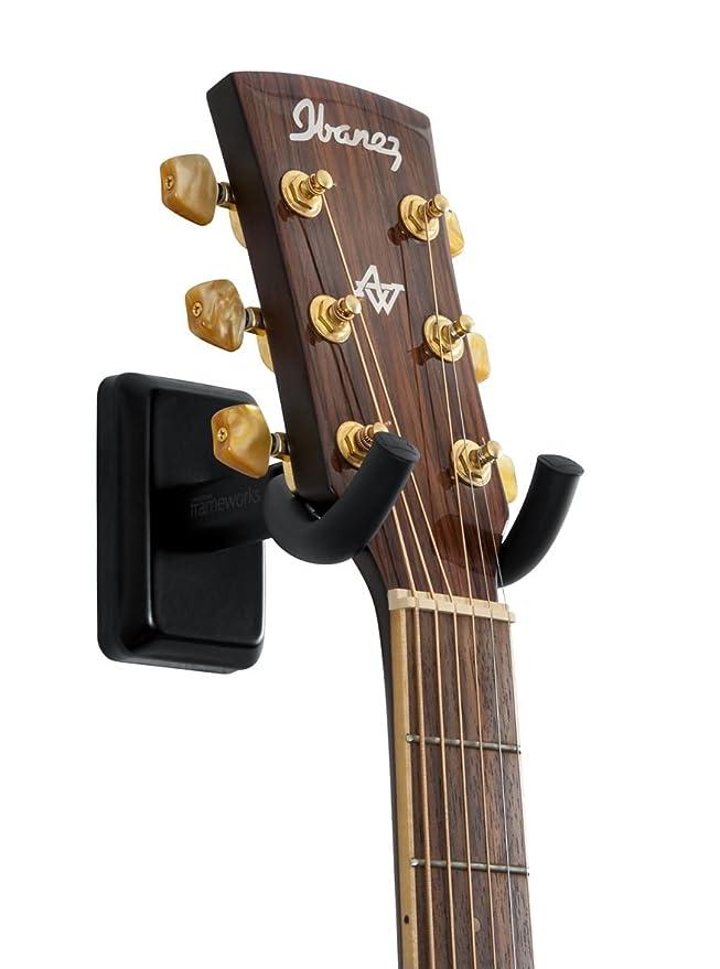Gator Cases GFW-GTR-HNGRBLK Frameworks Soporte para guitarra ...