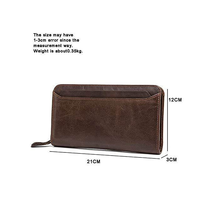 Amazon.com: KRPENRIO Wallet Mens Wallet Leather Wallet Coin ...