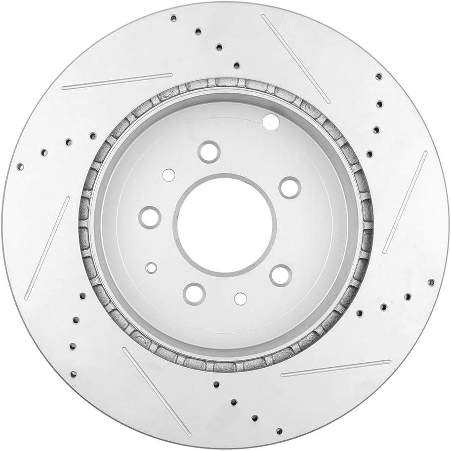 2007 2008 2009 2010 2011 Mazda CX-9 OE Replacement Rotors Ceramic Pads R