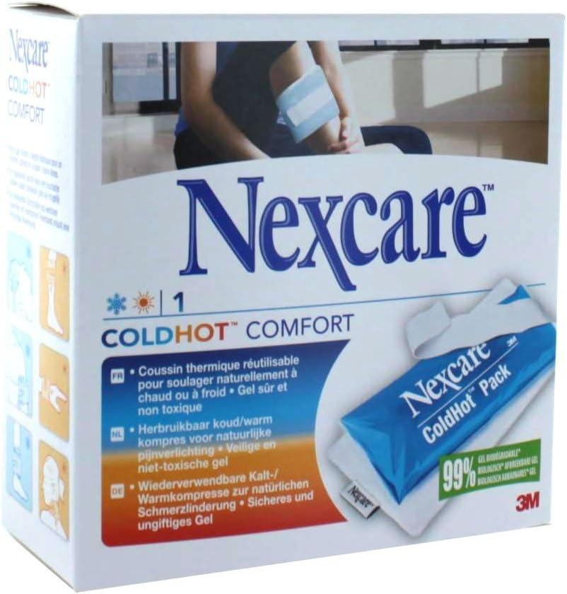 3 M – Nexcare – Cojín térmico coldhot Comfort y funda 10 x 27 cm): Amazon.es: Salud y cuidado personal