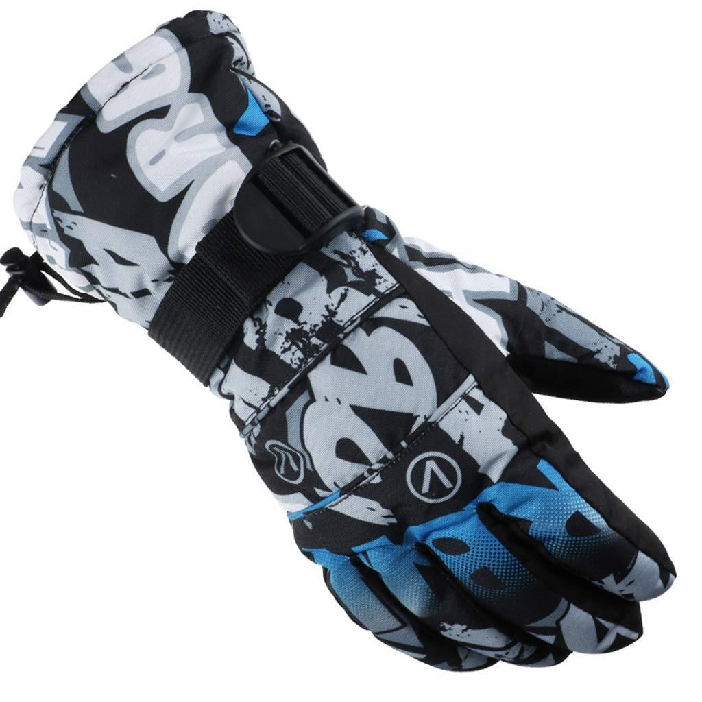 DSADDSD Winter Ski Handschuhe, Winddicht wasserdicht Männer und Frauen Outdoor-Handschuhe, Wandern Reiten Ski Handschuhe