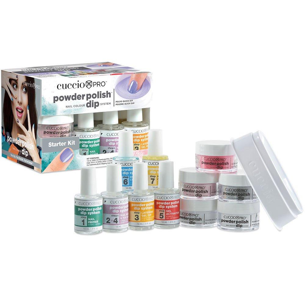 Cuccio Acryl Puder Polish Nail Farbe Dip System – Starter Kit ...