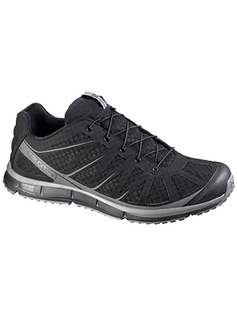 5122f6245a41 Salomon Kalalau Black Mens Trail Running Hiking Shoes