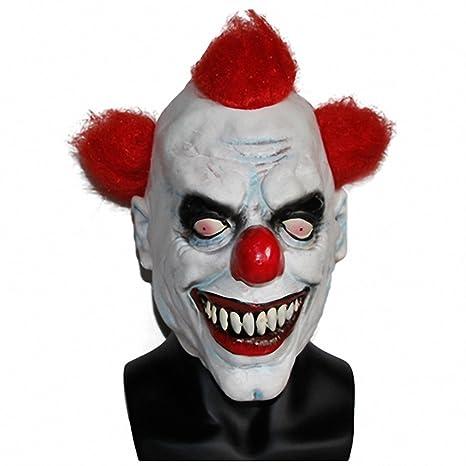 amazon com toy joker clown costume mask creepy evil scary halloween