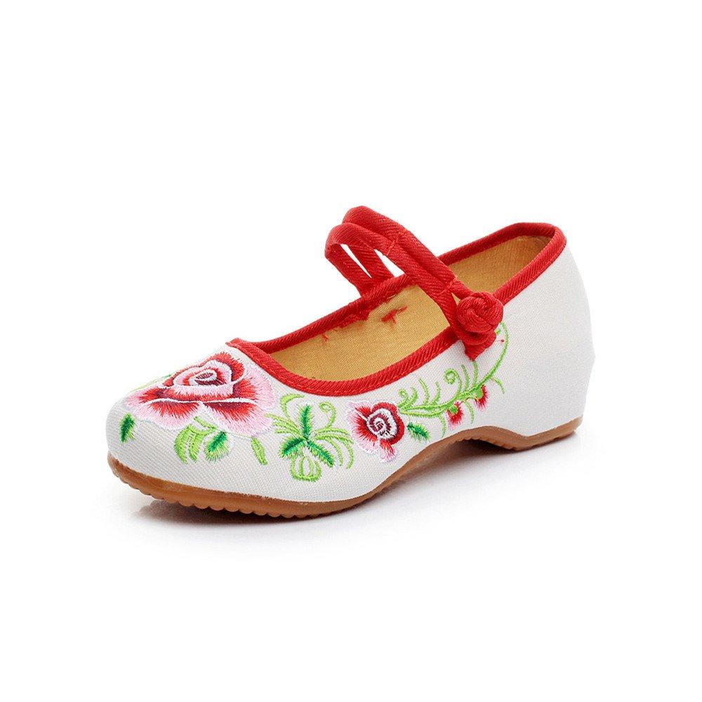 Fleur de Pivoine 2459 brodé Mode Chaussures Mode Bouton B01EPDOFQ2 Toile Chaussures Femmes Blanc 2f9cb01 - epictionpvp.space