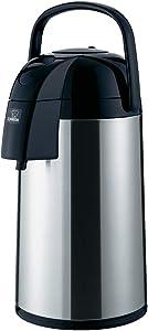 Zojirushi Supreme Air Pot Beverage Dispenser, 3.0 L, Polished Stainless