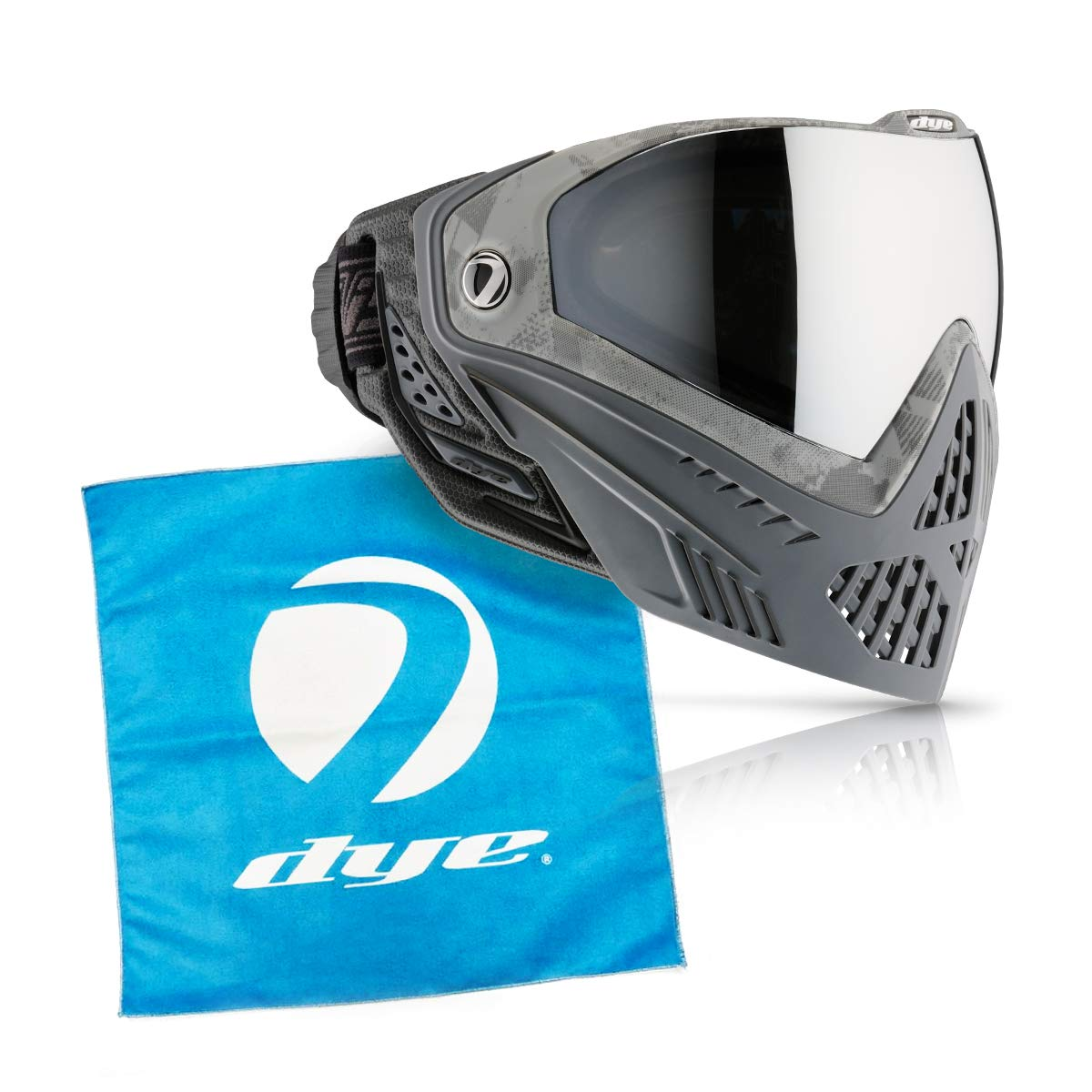 Dye i5 Paintball Goggle (Blackout i5 with Lens Cloth) by Dye