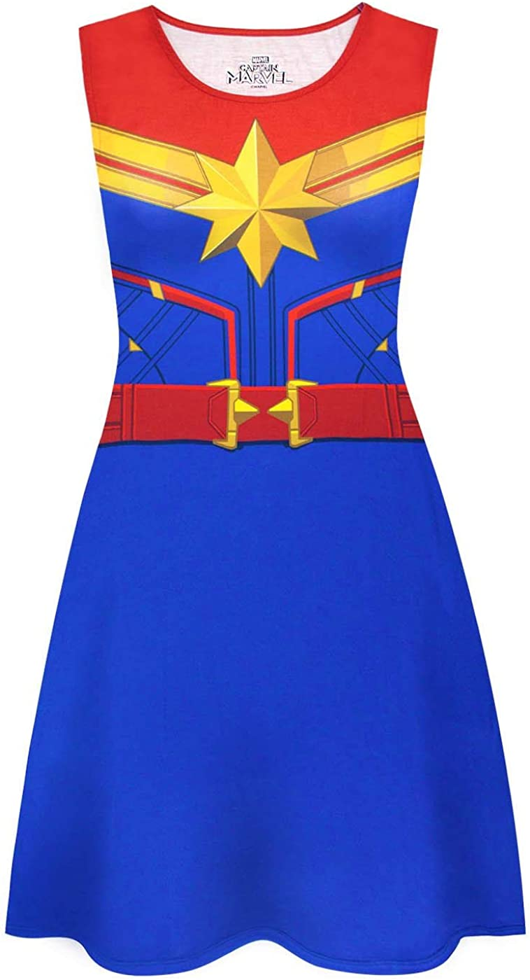 Amazon Com Captain Marvel Super Heroine Costume Women S Sleeveless Fancy Dress In Blue Clothing Free shipping on orders of $35+ and save 5% every day with your target redcard. captain marvel super heroine costume women s sleeveless fancy dress in blue
