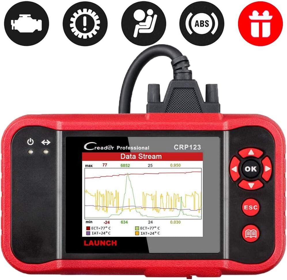 Launch CRP123 OBD2 Scanner OBD2 Code Reader Engine/ABS/SRS/Transmission Automotive Code Reader Diagnostic Scan Tool