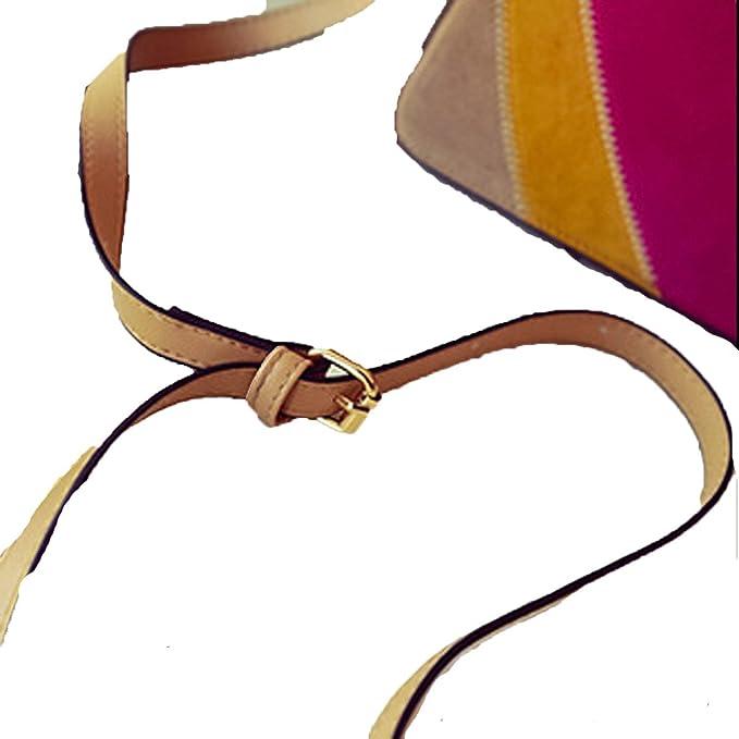 Neue Art Und Weisefarbe Splicing Umschlagbeutel Schulter ...