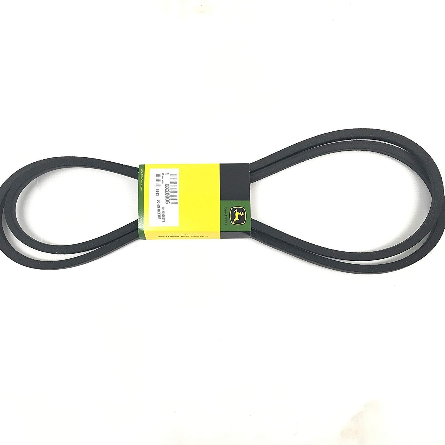 John Deere Gx20006 Lawn Tractor Transmission Drive Belt Does Anyone Have A Mowing Diagram For Lx Genuine Original Equipment Manufacturer Oem Part Garden Outdoor