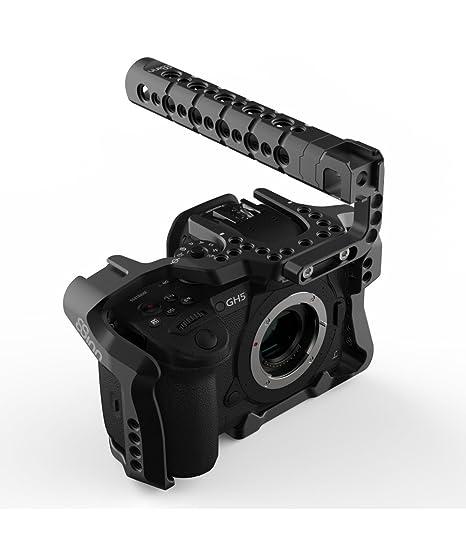 8Sinn - Panasonic GH5 / GH5S Jaula - 8-GH5 C+THB: Amazon.es ...