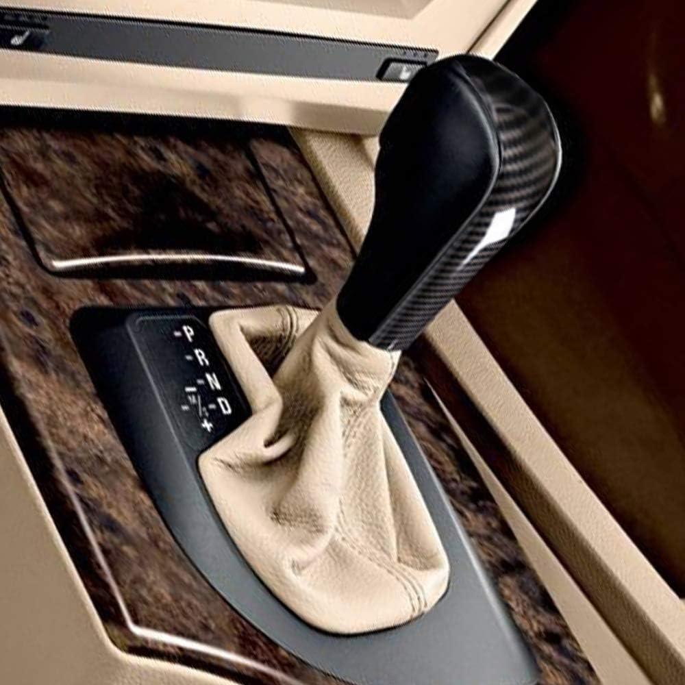 2010 Accessoires auto non pour E61 S/érie 5 Sedan DIYUCAR Coque de pommeau de levier de vitesse en plastique ABS pour E39 E60 E83 E53 E46 E61 1995