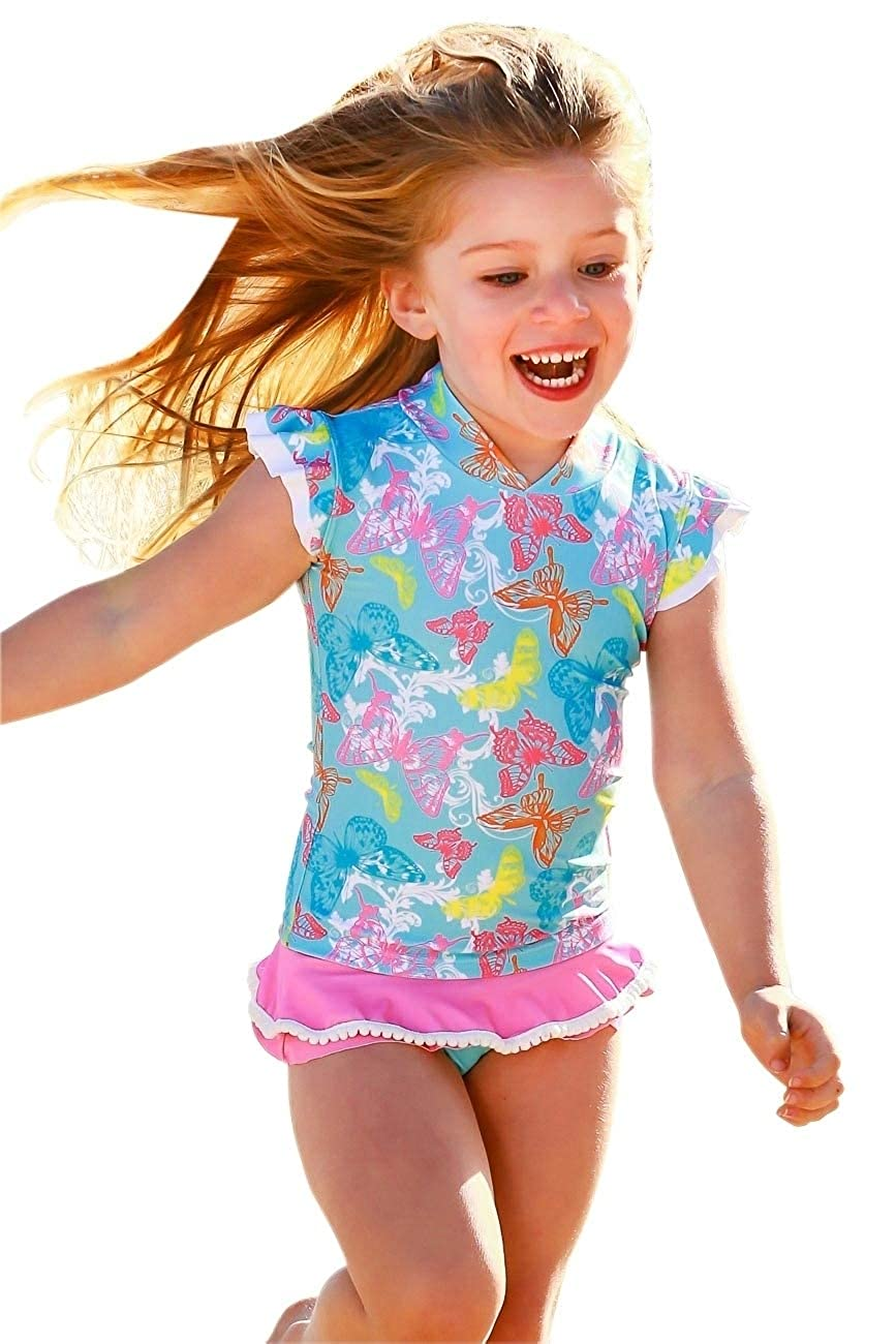 Nappy Cover Set Baby Girls Sun Shirt