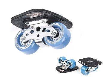 Noir Freeline Drift Skates mit 70mm R/äder und ABEC 7 Kugellager