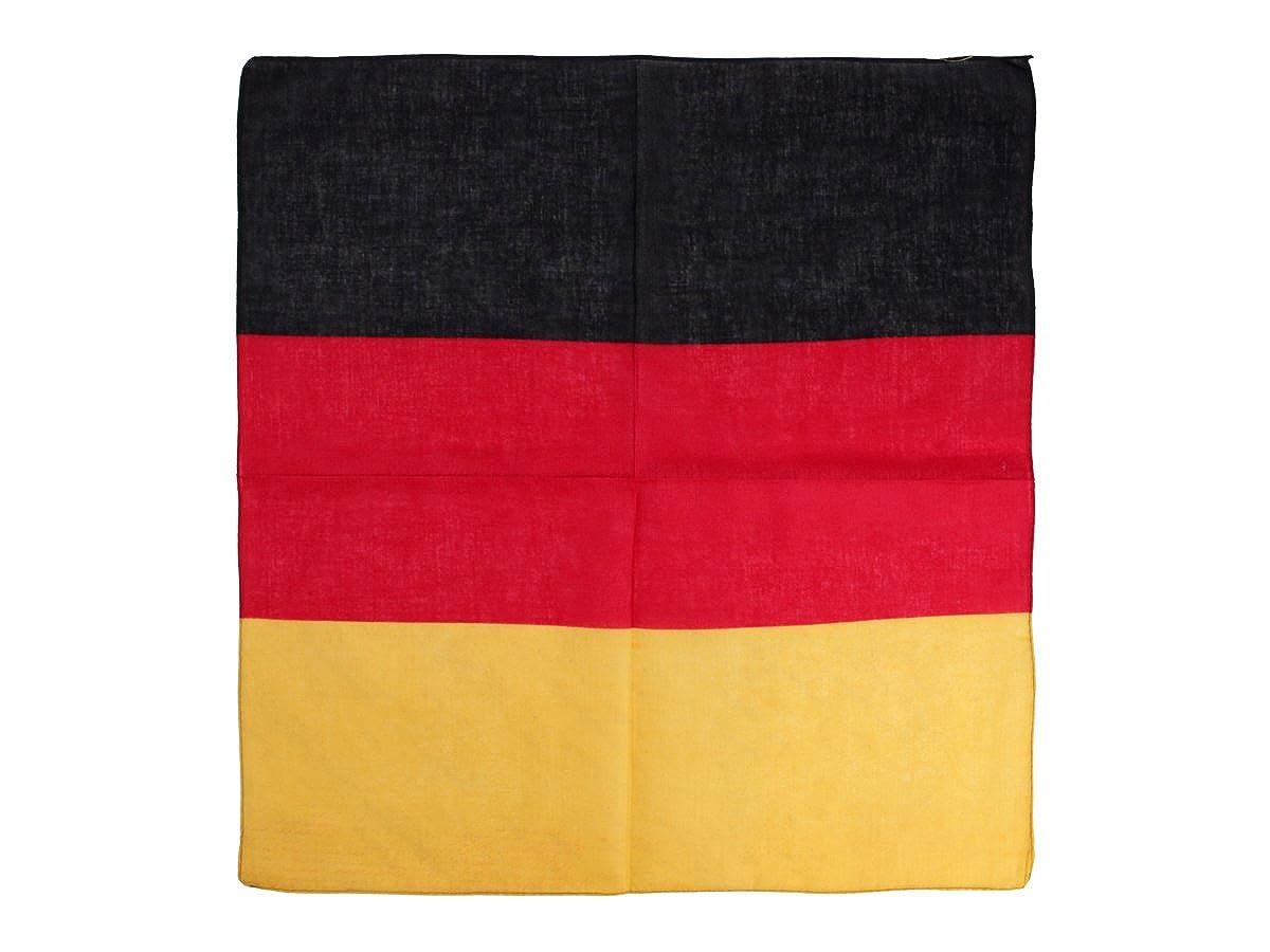 51 x 51 cm Einseitig Bedruckt Tuch Brasilien Flagge Brazil Kopftuch Bandana Halstuch Nickituch ca
