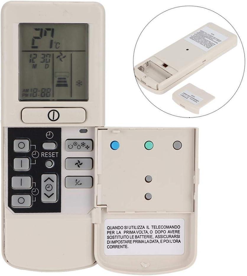 Bureau de m/énage de Remplacement de t/él/écommande de climatiseur de Refroidissement Universel pour Hitachi//RAR-2A1//RAR-52P1//RAR-2SP1//RAR-3U4//RAR-2P2 Bindpo T/él/écommande de climatiseur