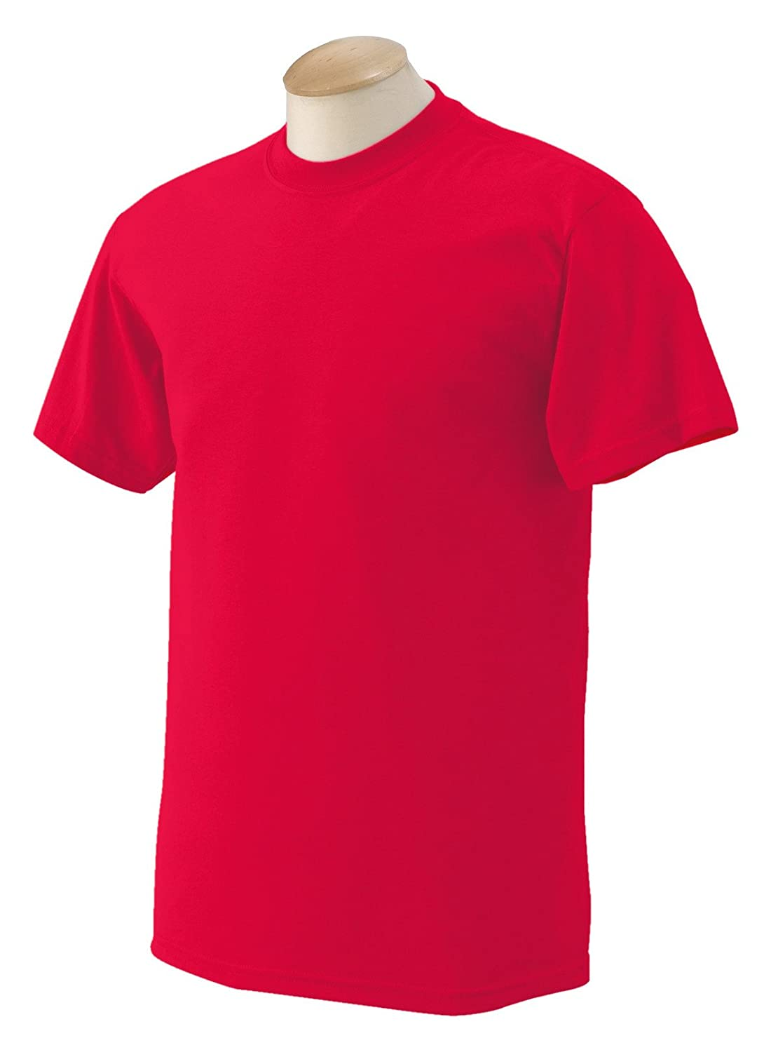 50/50 Ultra Blend Tee Shirt, Color: Red, Size: XX-Large