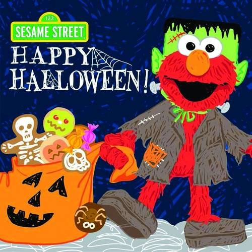 Happy Halloween! (Sesame Street Scribbles Elmo)]()