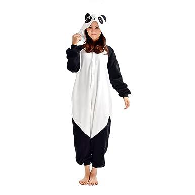 2bf8bd501c7f7 DarkCom Adulte Pyjama Déguisement Combinaison unisexe animal Onesies Grenouillère  Panda  Amazon.fr  Vêtements et accessoires